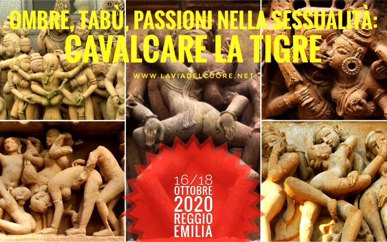 Evento Ombre, tabù, passioni nella Sessualità: Cavalcare la Tigre
