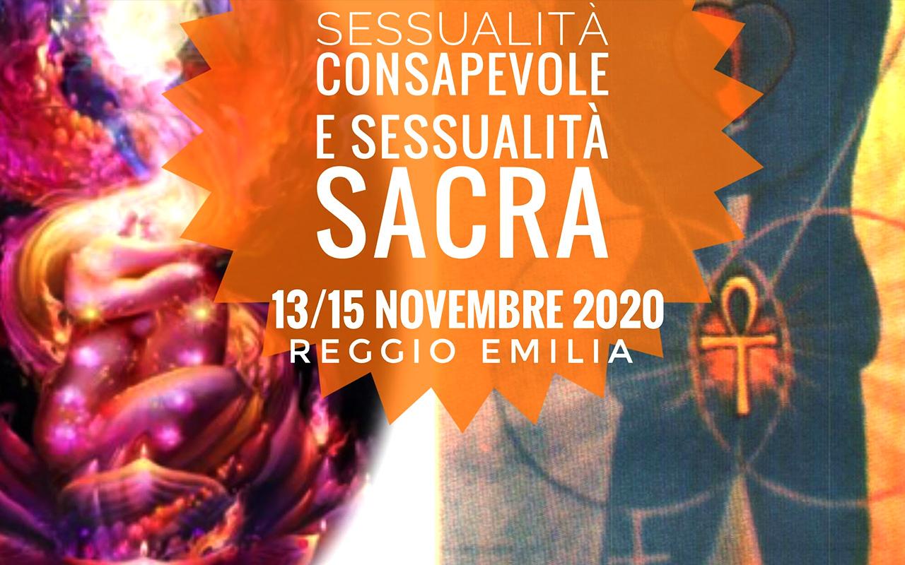 Evento Sessualità Consapevole e Sessualità Sacra