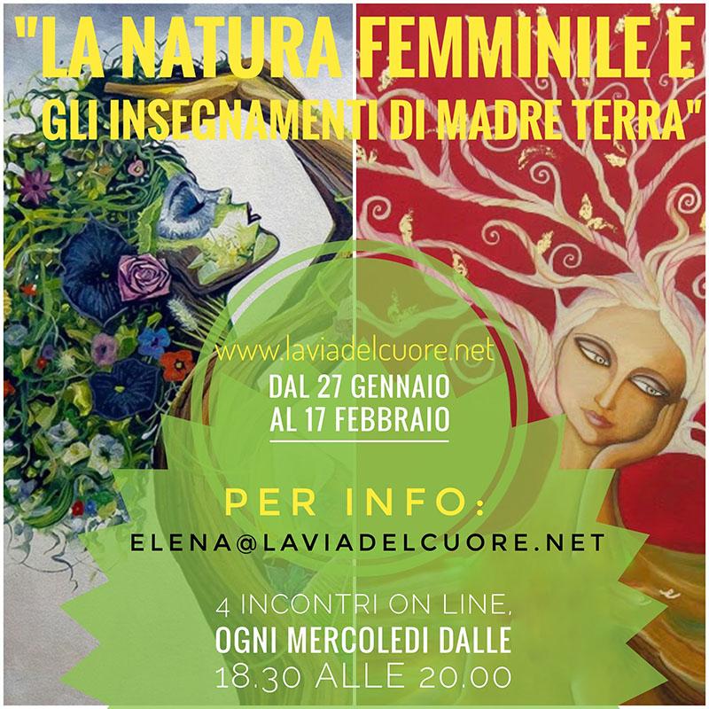 Evento La Natura Femminile E Gli Insegnamenti Di Madre Terra - Cerchio Femminile